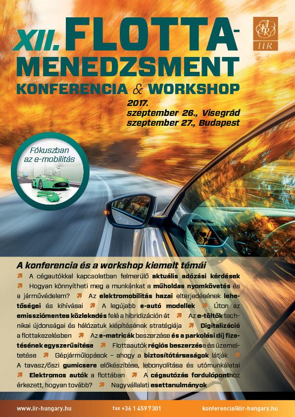 XII. Flottamenedzsment Konferencia & Workshop