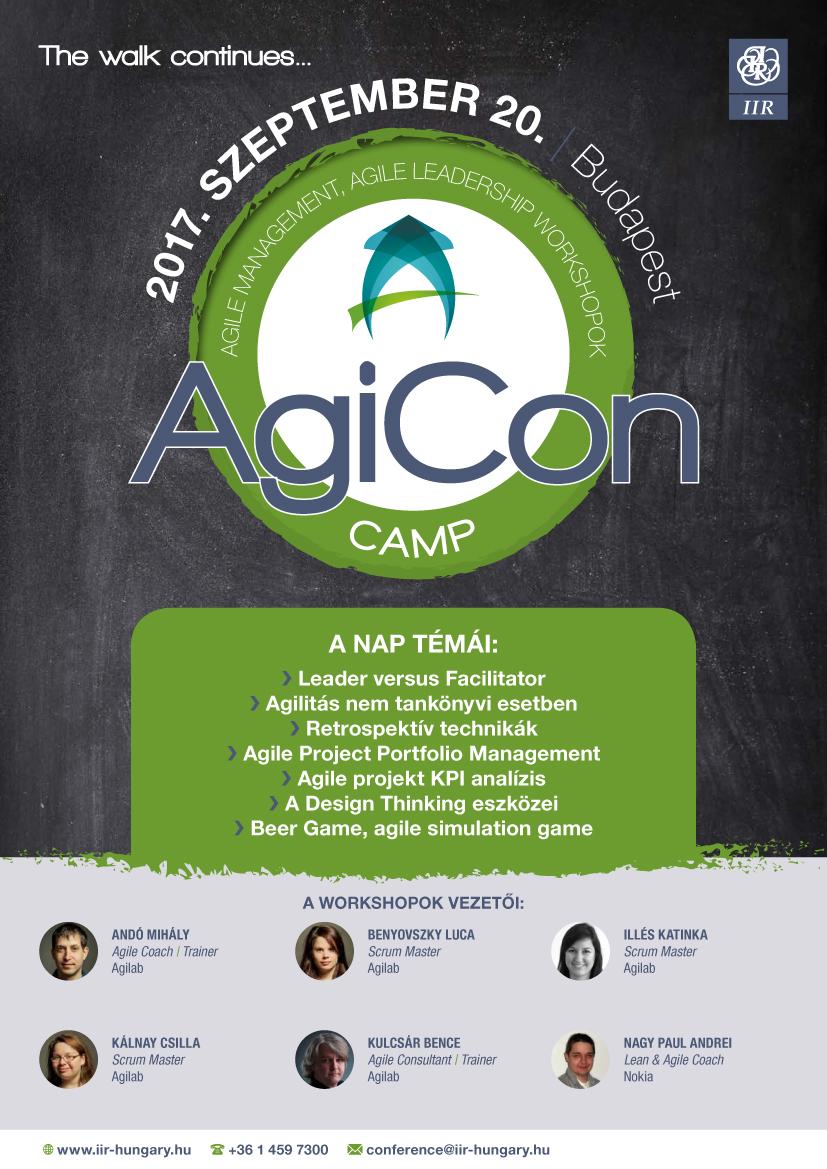AgiconCamp 2017