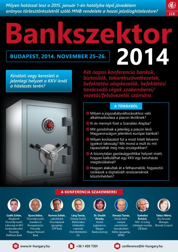 Bankszektor 2014