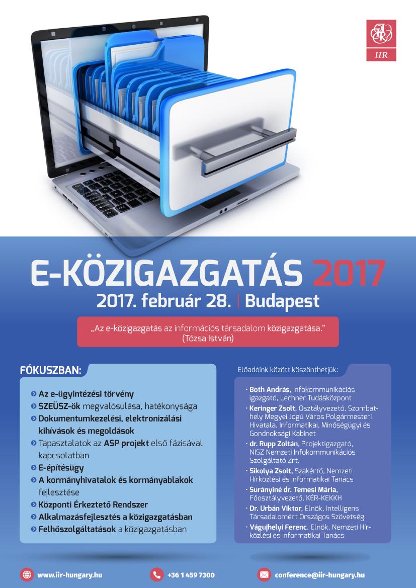 E-közigazgatás 2017