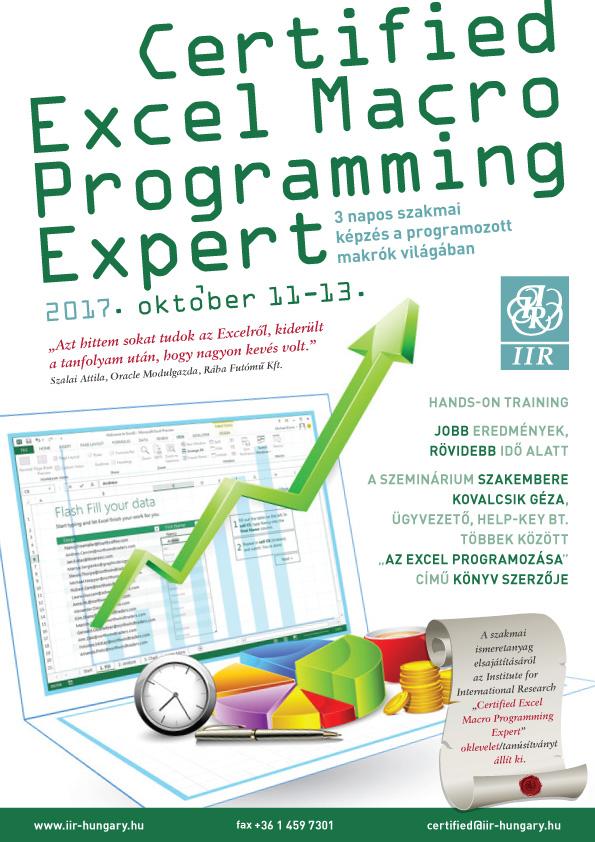 Certified Excel Macro