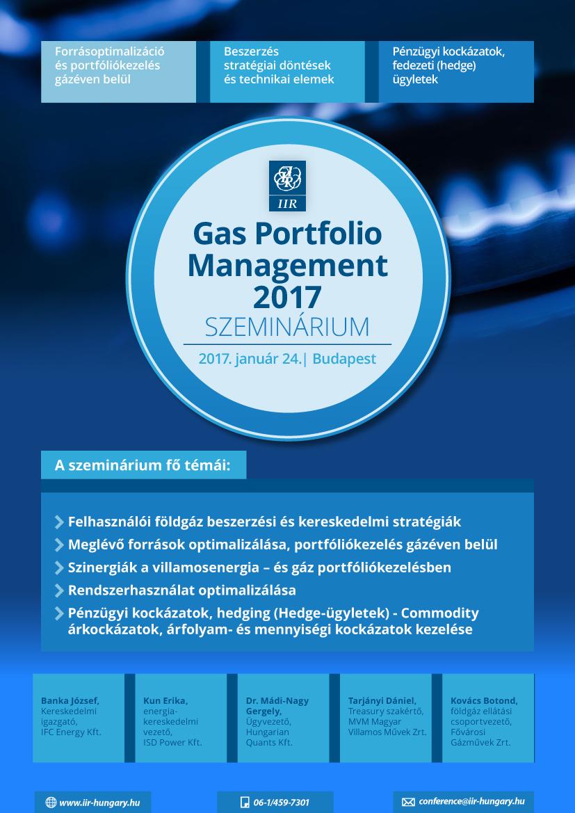Gas Portfolió Management