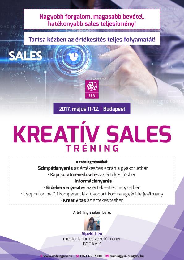 Kreatív sales tréning